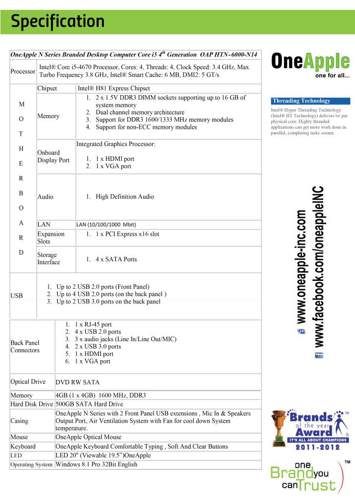 Intel® H81 Mohtasib i5-02